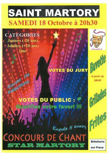 Concours De Chant Starmartory