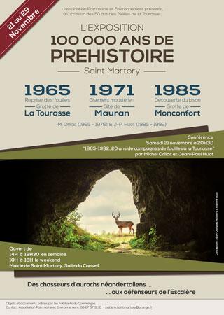 Saint-martory : 100 00 Ans De Pr�histoire