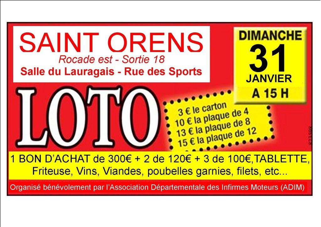 Grand Loto De L'adim � Saint-orens