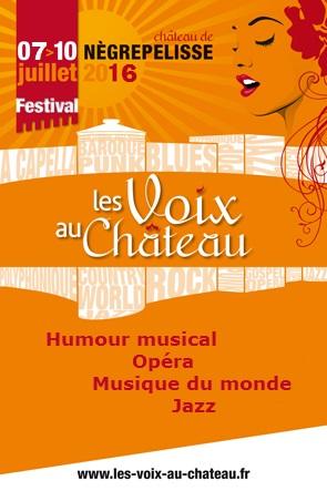 Festival Les Voix Au Ch�teau