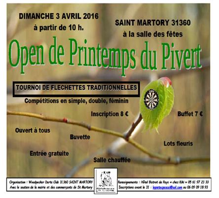 Saint-martory : Open De Printemps Du Pivert