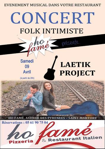 Saint-martory : Concert Folk Intimiste