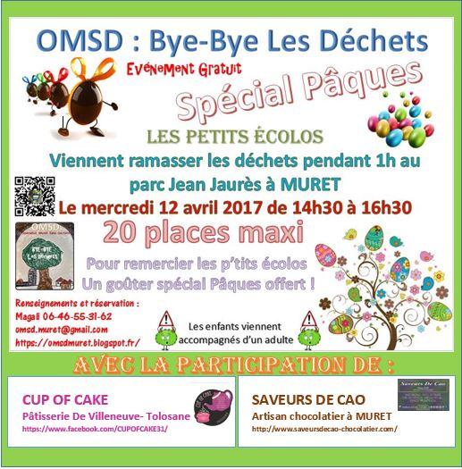 Bye-bye Les Déchets Spécial Pâques