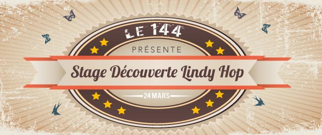 Stage Découverte De Lindy-hop