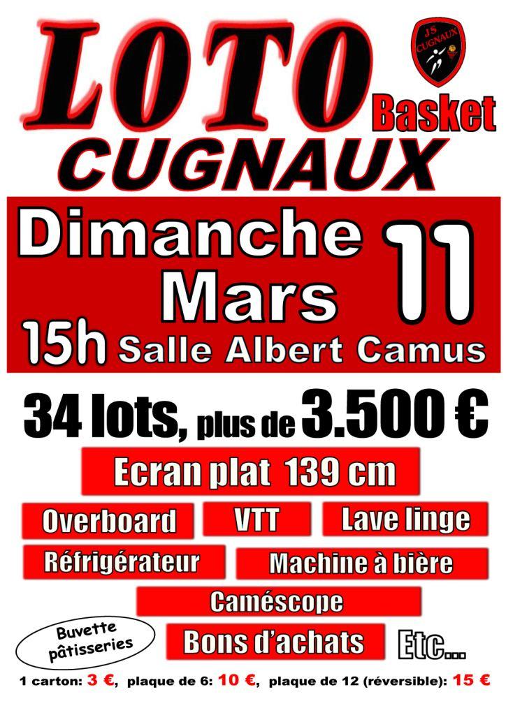 Loto De La Js Cugnaux Basket