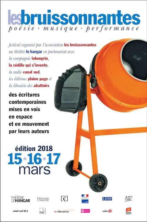 Les Bruissonnantes -- Du 15 Au 17 Mars - Théâtre Le Hangar