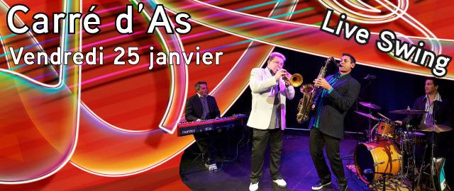 Soirée Live Swing Avec Carré D'as Et Gead Mulheran