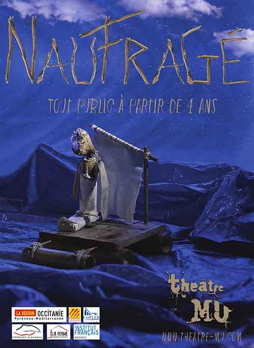 Naufragé - Théâtre Mu (spectacle De Marionnettes Jeune Public)