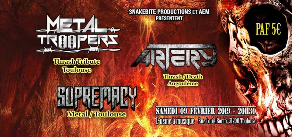 Metal Troopers X Artery X Supremacy