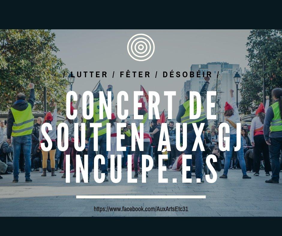Concert De Soutien Aux Gj Inculpé.e.s Part2