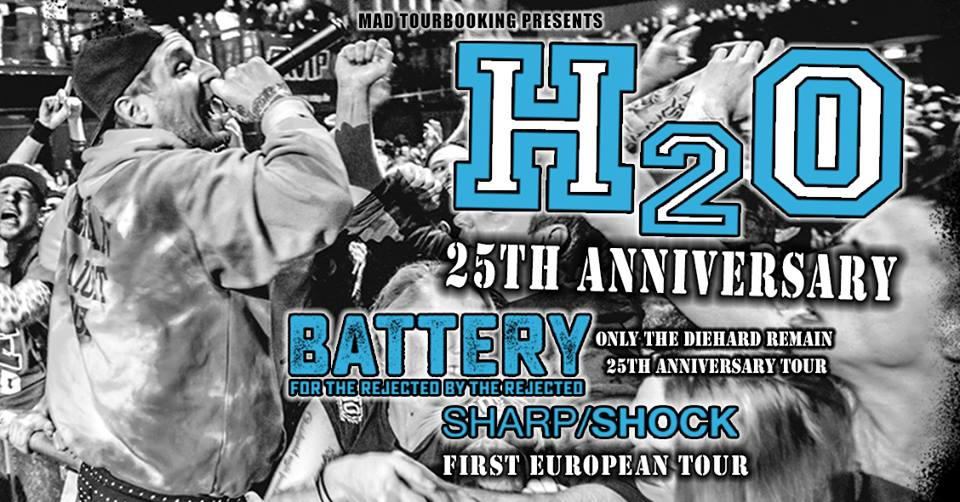 H2o - Battery - Sharp Shock à Toulouse