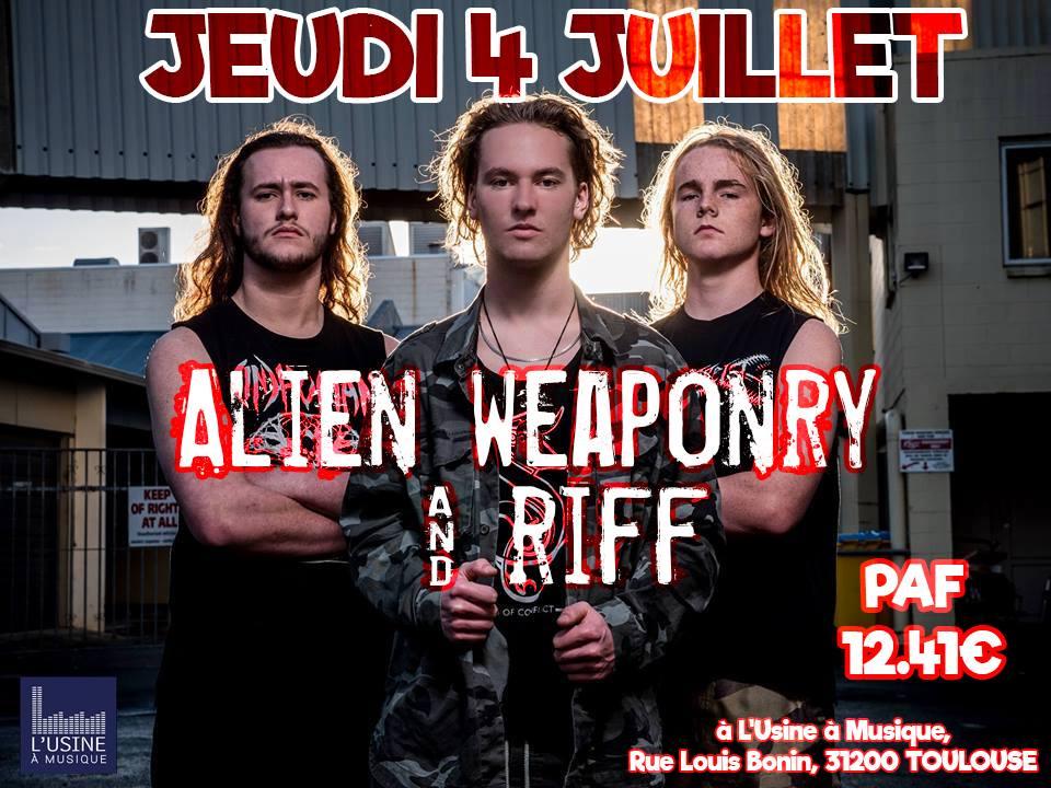 Alien Weaponry - Riff