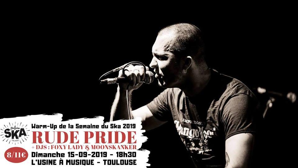 Rude Pride + Djs - Warm-up Semaine Du Ska 2019