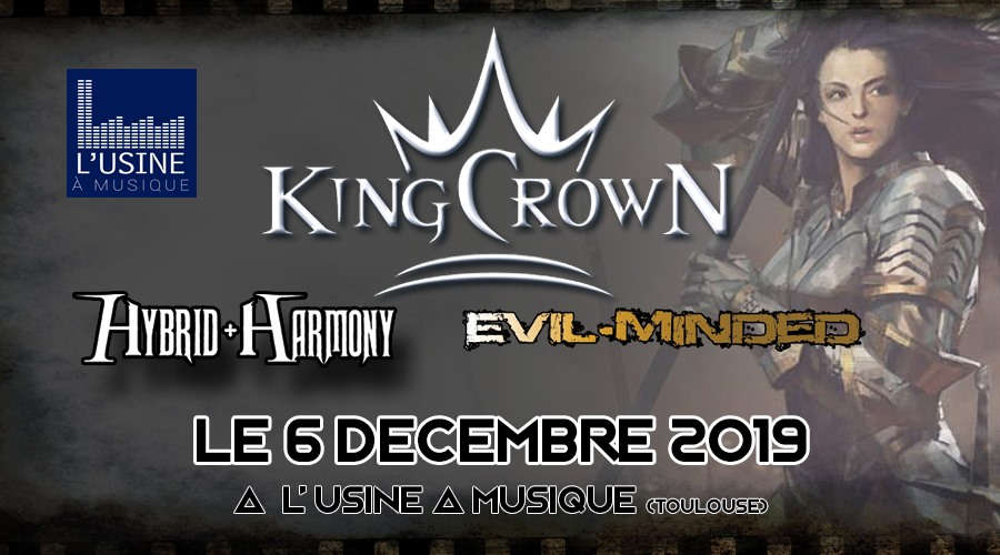 Kingcrown - Hybrid Harmony - Evil Minded
