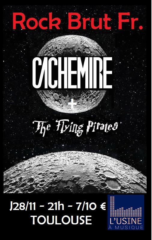 Rock Brut Fr. : Cachemire - The Flying Pirates