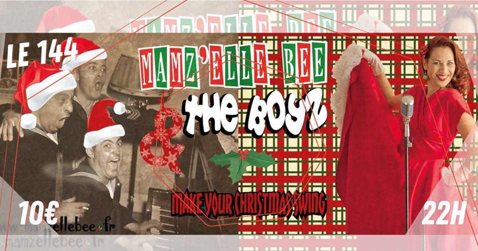 Soirée Live Rock Swing Mamz Elle Bee And The Boys