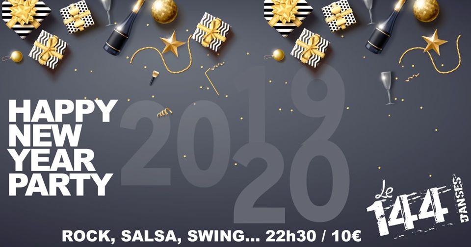 Soirée De Réveillon Au 144 Rock Salsa Swing