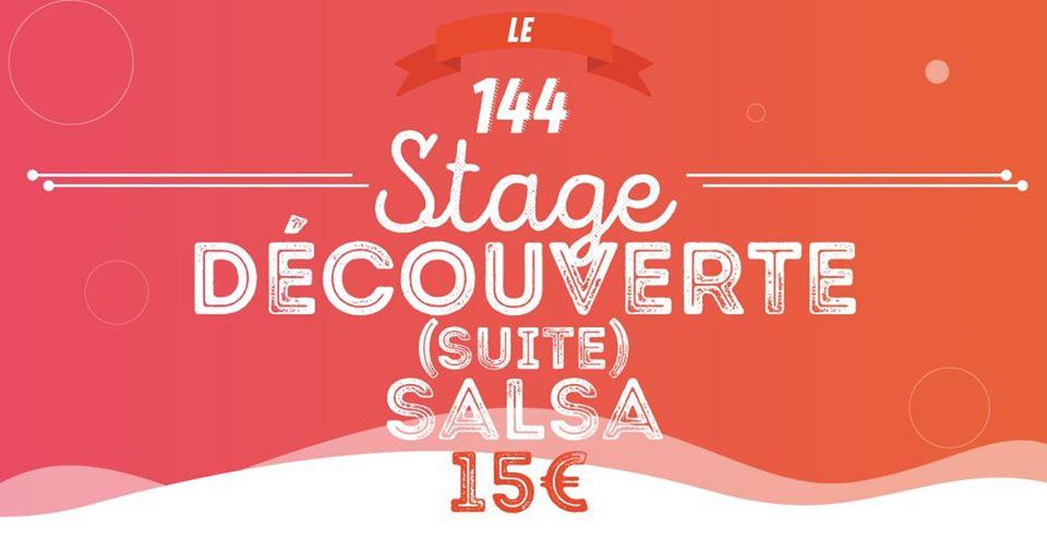 Stage Découverte Salsa Faux Débutants