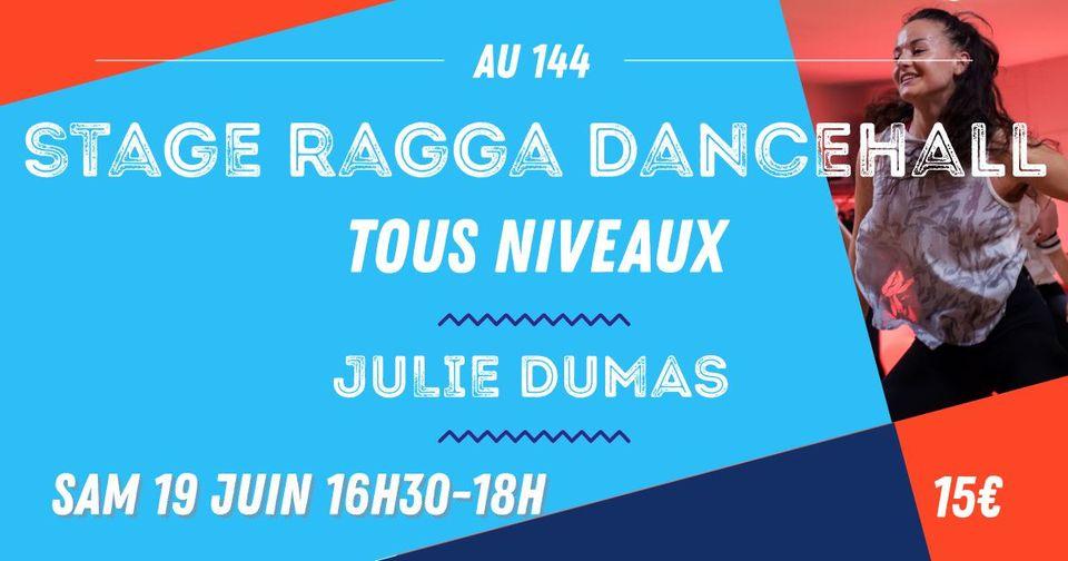 Stage Ragga Dance-hall Tous Niveaux