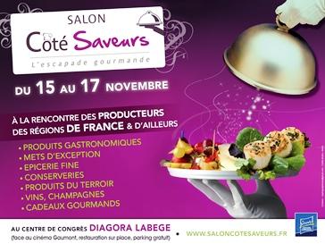 Salon cote saveurs agenda toulouse annuaire 2017 for Salon saveurs