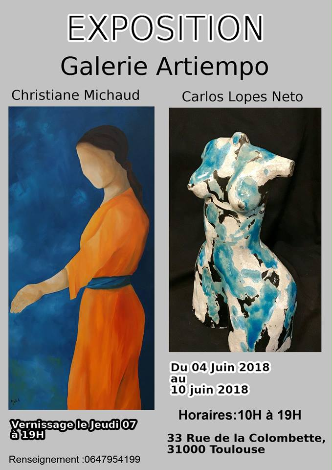 Exposition Christiane Michaud Et Carlos Lopes Neto