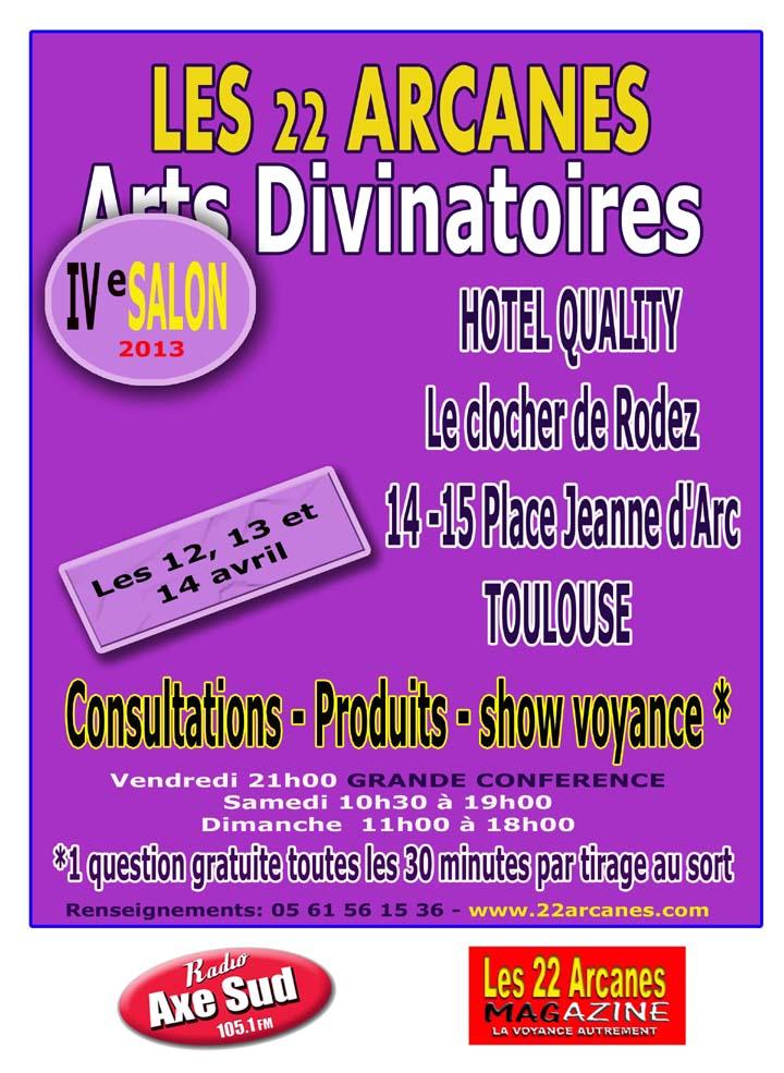 4 salon de la voyance agenda toulouse annuaire 2017 for Salon des animaux toulouse 2017