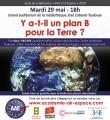 agenda.Toulouse-annuaire - Y A-t-il Un Plan B Pour La Terre ?