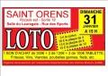 agenda.Toulouse-annuaire - Grand Loto De L'adim � Saint-orens