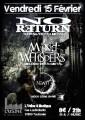 agenda.Toulouse-annuaire - No Return - Mind Whispers - Newtt à L'usine à Musique - Toulouse