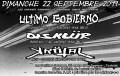 agenda.Toulouse-annuaire - Concert Metal Punk Avec Ultimo Gobierno (espagne - Oldschool Hardcore-punk Dbeat) + DisklÜr (bordeau