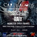 agenda.Toulouse-annuaire - Monster In Me Tour 2020 Carthagods - Parallel Minds - Deathmatch