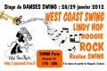 agenda.Toulouse-annuaire - Stage De Danses Swing (rock, Wcs, Lindy Hop)