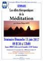 agenda.Toulouse-annuaire - Les Effets Thérapeutiques De La Méditation. Par Docteur Philippe Batut.