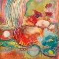 """agenda.Toulouse-annuaire - """"mondes éthériques"""", Peinture Abstraite- Figuration Libre De Christine Garuet"""