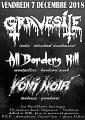 agenda.Toulouse-annuaire - Concert Metal Avec Gravesite (italie - Oldschool Deathmetal) , All Borders Kill (montpellier - Hardc