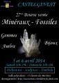 agenda.Toulouse-annuaire - 27ème Bourse Vente Minéraux, Fossiles, Pierres Taillées, Bijoux à Castelginest