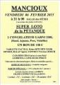 agenda.Toulouse-annuaire - Super Loto De La Pétanque à Mancioux