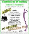 agenda.Toulouse-annuaire - Soirée Années 80 Et Repas Castillon De Saint-martory