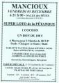 agenda.Toulouse-annuaire - Mancioux Super Loto De La Pétanque
