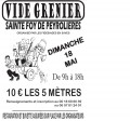 Agenda : Vide-grenier � Ste Foy De Peyrolieres