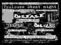 agenda.Toulouse-annuaire - Concert Metal Punk Avec Disease (macédoine - Raw Dbeat) + DisklÜr (bordeaux - Dbeat Hardcore) + KrÖt
