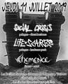 agenda.Toulouse-annuaire - Concert Metal Punk Avec Social Crisis + Life Scars + Vehemence