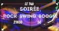 agenda.Toulouse-annuaire - Soirée Rock Swing Boogie