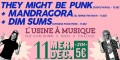 agenda.Toulouse-annuaire - Mandragora - They Might Be Punk - Dim Sums