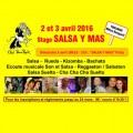 """agenda.Toulouse-annuaire - Stage Et Tea Party """"salsa Y Mas"""", Les 2 Et 3 Avril 2016 à Toulouse - Maison De Quartier De Rangueil"""