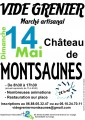 agenda.Toulouse-annuaire - Vide Grenier, Marché Artisanal - Château De Montsaunès