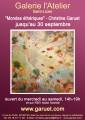 """agenda.Toulouse-annuaire - """"mondes éthériques"""", Peinture De Christine Garuet"""