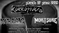 agenda.Toulouse-annuaire - Concert Metal Punk Avec Korrosive + Death Buring + Mortsure