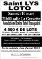 agenda.Toulouse-annuaire - Loto Saint Lys (31470) - Associations Rosine Bet Et Bousquairol